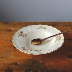 Items similar to Marlborough Royal Petal Soup Plate on Etsy Soup Plating, Vintage China, Plates, Tableware, Licence Plates, Dishes, Dinnerware, Griddles, Tablewares