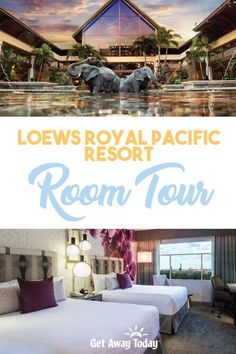 The Loews Royal Pacific Resort at the Universal Orlando Resort feels like you've been transported to the middle of the Pacific. Our Loews Royal Pacific Resort Room Tour will show you exactly what it's like to stay at th. Orlando Travel, Orlando Resorts, Hotels And Resorts, Universal Orlando, Universal Studios, Best Vacation Spots, Best Vacations, Get Away Today, Room Tour