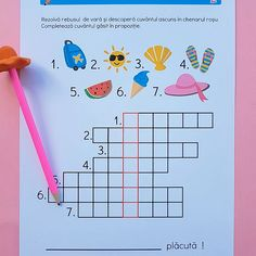 Materiale   zmeisorii Puzzle, Diagram, Learning, Bebe, 1st Grades, Puzzles, Studying, Teaching, Puzzle Games