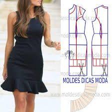 Resultado de imagen para patrones de vestidos