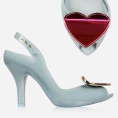 Melissa Vivienne Westwood Lady Dragon Heart * Jelly Shoes Brazil in Clothes, Shoes & Accessories, Women's Shoes, Heels | eBay