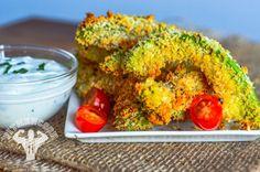 Baked Avocado Fries | Fit Men Cook