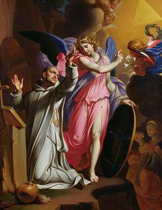 Saint Bruno At Prayer Painting Baroque Painting, Lotus Art, Oil On Canvas, Canvas Prints, Chiaroscuro, Sacred Art, Christian Art, Religious Art, Art Reproductions