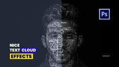 Create a Powerful Text Portrait from a Photo | Photoshop Tutorial | Spee... Text Cloud, Text Portrait, Speed Art, Cloud Photos, Photoshop Tutorial, Clouds, Create, Instagram