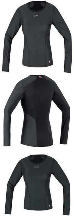 Base Layers 177850: Gore Bike Wear, Base Layer Ws Lady, Thermo Shirt Long, (Uwslla9900), Black, M (3 BUY IT NOW ONLY: $71.23