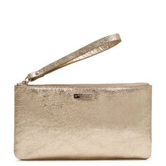 Harrison Street Jenny Ann wristlet bag by Kate Spade Gold Clutch, Gold Accessories, Spring Looks, Wallets For Women, Evening Bags, Continental Wallet, Leather Wallet, Coin Purse, Kate Spade