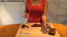 La couture cuir sellier - Video 1 - Enfilage des aiguilles - www.cuirtextilecrea.com