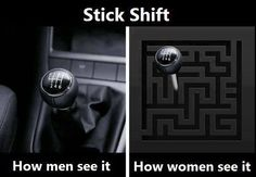 Actually ask anyone from either gender these days and maybe 12% can drive stick hah