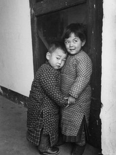 Two Small Chinese ChildrenCarl Mydans