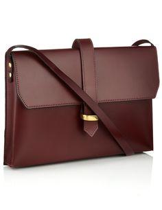 Lizzy Disney Loop Bag in Oxblood, $330