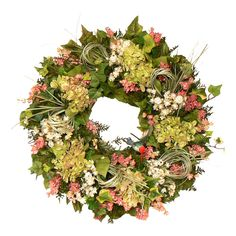 Hummingbird Preserved Wreath