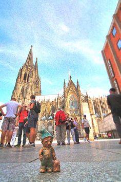 Heinzelmännchen am Kölner Dom #cologne #köln #heinzelmännchen