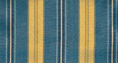 Misa Moire Fabric Blue, navy and gold moire stripe upholstery fabric