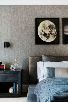 We asked three top interior designers to share the top decorating mistakes they notice in bedroom designs everywhere—and solutions to fix them All White Bedroom, White Bedding, Blue Bedroom, Bedroom Bed, Bedroom Colors, Bedding Sets, Master Bedroom, Slipcovered Headboard, Ideas Habitaciones