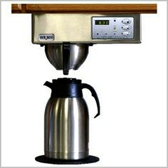 Brewmatic Built In Coffee Maker Digital Controls Brushed Stainless Steel 7 Under Counter