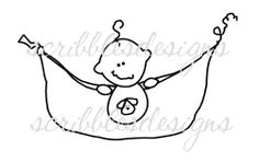 $3.00 Baby Pea Pod Boy Digital Stamp  (http://buyscribblesdesigns.blogspot.ca/2012/12/101-baby-pea-pod-boy-300.html) digital stamps, digis, scribbles designs, babyboy, baby, pea pod, puppy