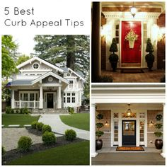 Easy DIY tips for maximizing your homes curb appeal so the first impression of your house is a great one