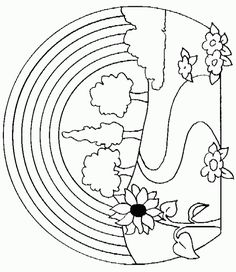 Nature Coloring Pages For Adults | Along with Nature coloring pages, there are many other pictures that ...