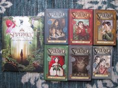 Spiderwick Chronicles Lot 7 HC PB Books 1-5 + 2 Specials VG Goblins Attack Movie