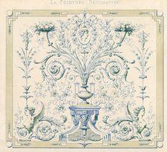 'Motifs de Peinture Decorative pour Appartements Modernes', Paris, Liege and Berlin, Ch.Claesen, 1860 - 1867