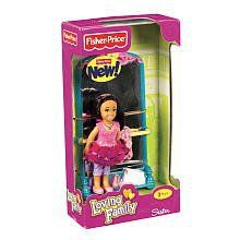 """Introducing a Brand New Hispanic Figure, these all-new figures will bring each of the family members a new look and lots of play with included play pieces.       Famous Words of Inspiration...""""Constantly talking isn't necessarily... more details available at https://perfect-gifts.bestselleroutlets.com/gifts-for-holidays/toys-games/product-review-for-fisher-price-loving-family-sister-doll-plus-ballet-stand-with-mirror-hispanic/"""