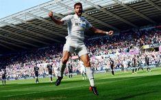Download wallpapers Fernando Llorente, 4k, goal, footballers, Premier League, soccer