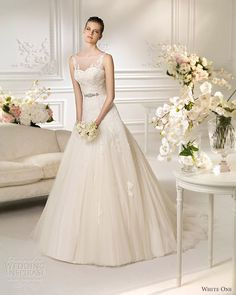 White One 2013 bridal collection