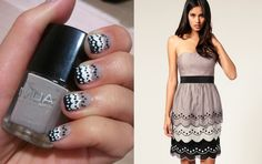 Inspired by Fashion Nail Art