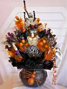 Image detail for -Halloween Candy Bouquets