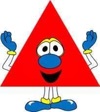 Triangle shapes craft