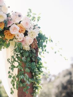 Wedding Planning: Amorology - http://www.stylemepretty.com/portfolio/amorology-weddings Venue: Rancho Valencia - http://www.stylemepretty.com/portfolio/rancho-valencia Floral Design: Oak And Owl - http://www.stylemepretty.com/portfolio/oak-and-owl   Read More on SMP: http://www.stylemepretty.com/2015/12/18//