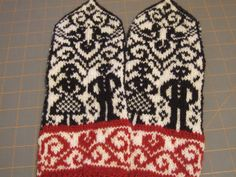 Wedding Mittens, 3-3.5mm, $6.00