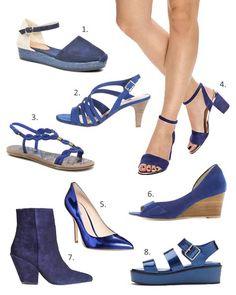Tendance chaussures bleu indigo. Chaussure Femmes · Tendances du Printemps-Été  2015 284e5f88ddc3