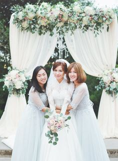 Fall Bridesmaid Dresses - Stella Yang Photography