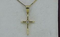 14K-Yellow-Gold-Small-Cross-Pendant-Necklace-1-034