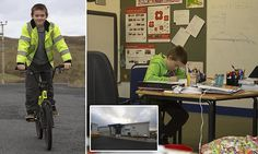 Ten-year-old is the ONLY pupil in his Scottish island school