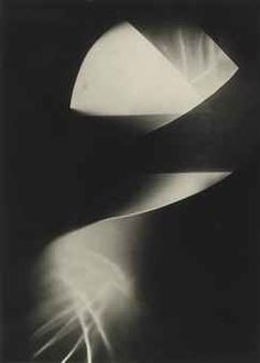 Laszlo Moholy-Nagy.  Untitled (Photogram), 1923-1925