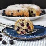 Blueberry Nut Buttermilk Bundt Cake