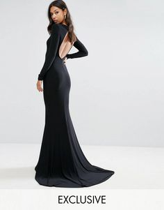 Discover the latest dresses with ASOS. From party, midi, long sleeved and maxi dresses to going out dresses. Shop from thousands of dresses with ASOS. Open Back Maxi Dress, Maxi Dress With Sleeves, Online Shop Kleidung, Asos Mode, Fishtail Maxi Dress, Mode Online Shop, Club Dresses, Maxi Dresses, Party Dresses