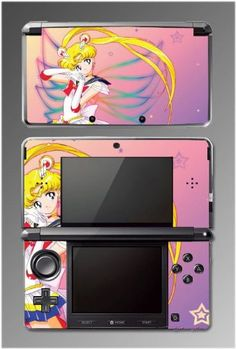 Amazon.com: Sailor Moon Jupiter Mars Venus 2 Mercury Video Game Vinyl Decal Skin Cover Protector for Nintendo 3DS: Video Games