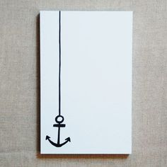 anchor paper card