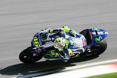 Vale, Sepang Test Day 1