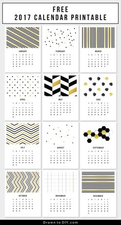 Printable Wall Calendar   Free Download  Freebies Printable