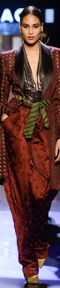 #Farbbberatung #Stilberatung #Farbenreich mit www.farben-reich.com Jean Paul Gaultier Collection Spring 2016 Couture