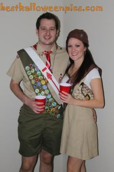 Girl Scout Costumes Boy And Girl Scout Halloween Costume Sc 1 St