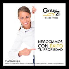 Negociamos con éxito tu propiedad, ¡confía en los expertos! contáctanos al (55) 5251 6700 o visítanos en www.century21mexico.com #C21Contigo #CENTURY21MÉXICO #BienesRaíces