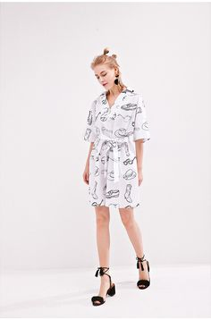 What's in Your Closet? Cotton Dress DR1001
