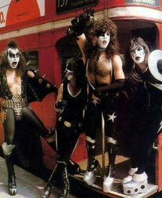 Kiss first time in London