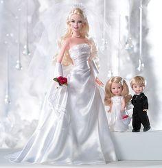 Barbie bRIDE DOLLS   special occasion david s bridal david s bridal eternal barbie doll ...
