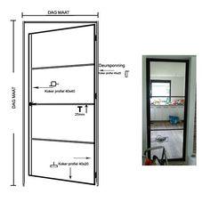 Detail tekeningen Metal Window Frames, Steel Frame Doors, Steel Doors And Windows, Glass Design, Door Design, Tub Cover, Door Detail, Detailed Drawings, Types Of Doors